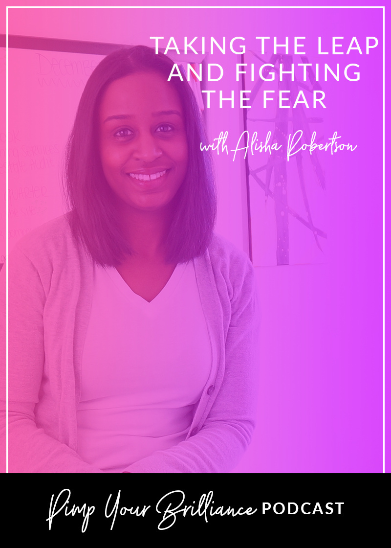 In this episode, Alisha shares why she took the leap into starting a creative business, how she produces so much high value content and why fear is the only thing truly holding you back from creating your dream business.