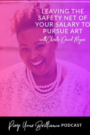 Thinking of pursuing art as a full time career? Artist Christa David shares why she left her six figure salary to pursue art, how to evaluate your life situation to decide if taking the leap is right for you, marketing yourself as a full time artist and avoiding the comparison bug. Click through to listen.