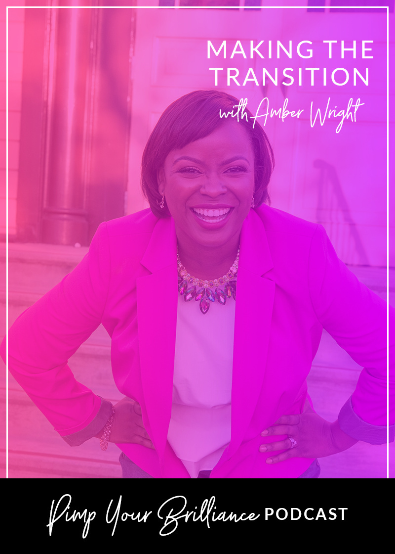 Ever thought about quitting your job to pursue running your side hustle full time? Well Amber Wright of TalktoAmber.com has recently made the transition and shares how she went from college professor to full time business owner.