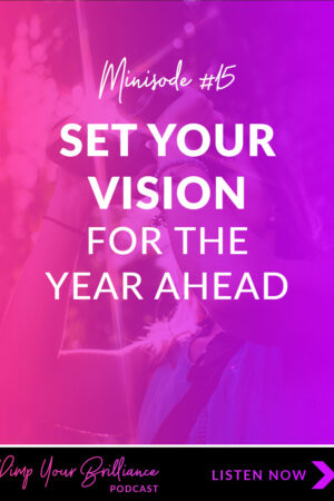 Have you set your vision for this year? So many people have a difficult time finding their mojo at the beginning of a new year. In this episode, I'm sharing 5 steps to help you clearly and confidently set your vision for the year ahead.