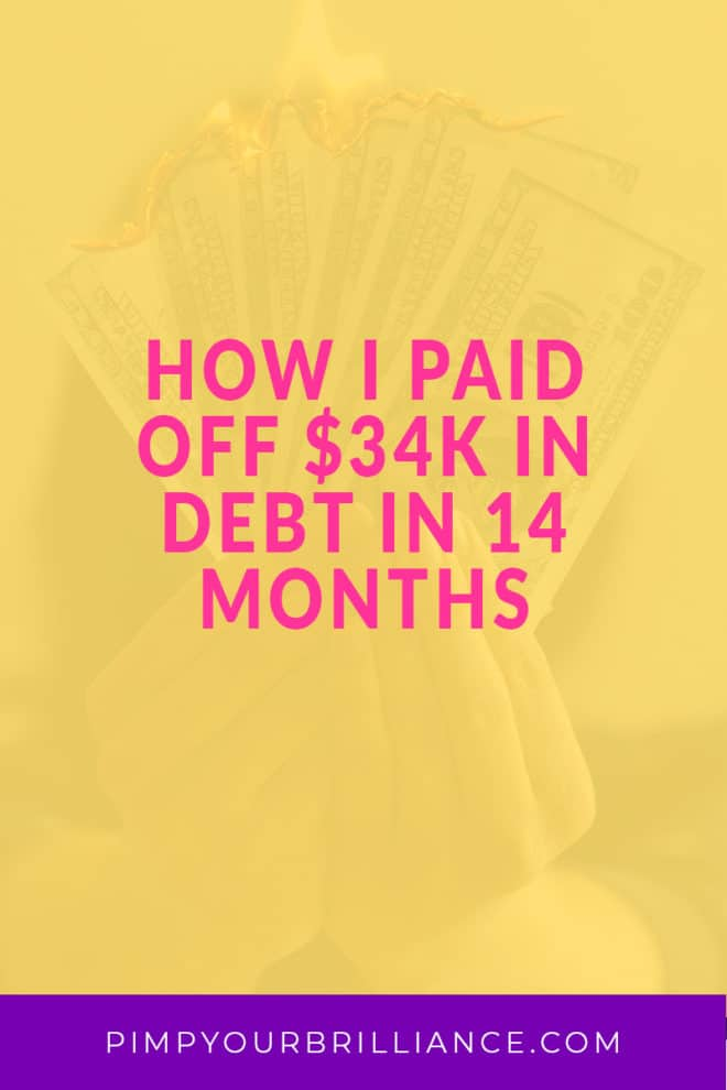 Did you know that the average American household carries thousands of dollars in credit card debt? Unfortunately, I found myself exactly in that situation with more credit card debt than I could stomach. Over the course of 14 months, I managed to pay off all of my credit cards a whopping $34,000.