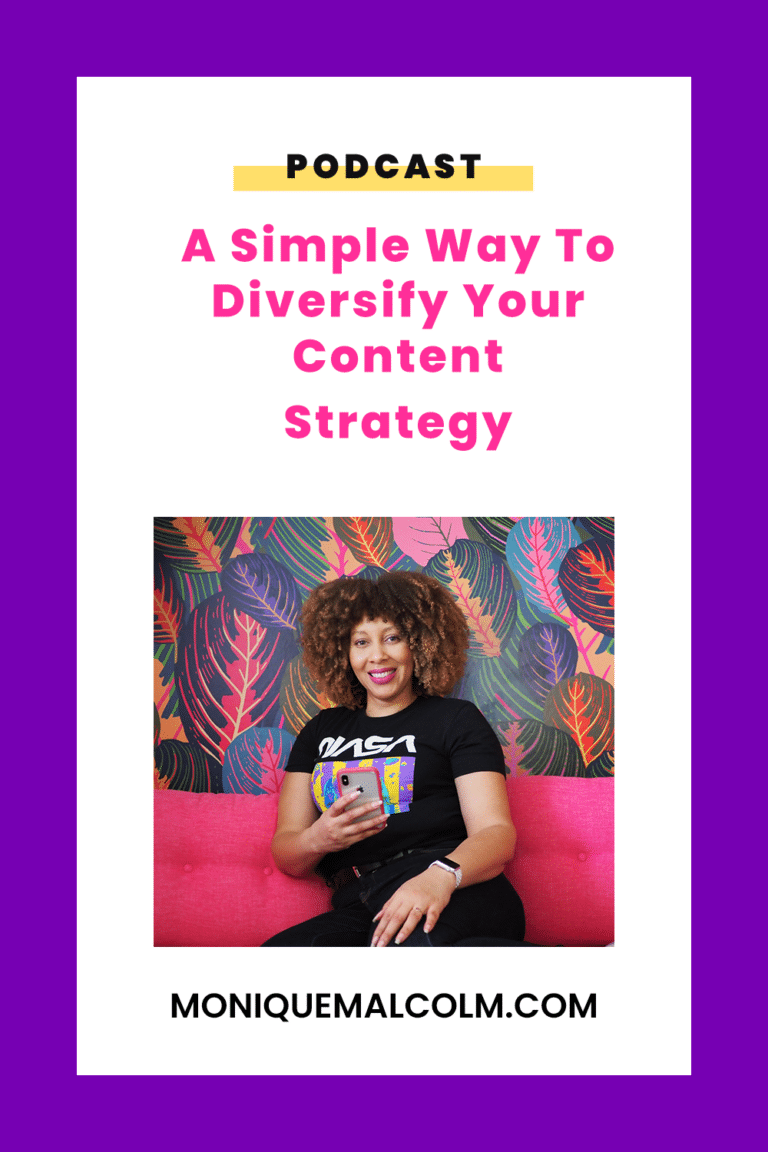 In this episode, Monique talks about content strategy, what it is, why you need, and how she uses her content cake framework to build a strategy for her business.