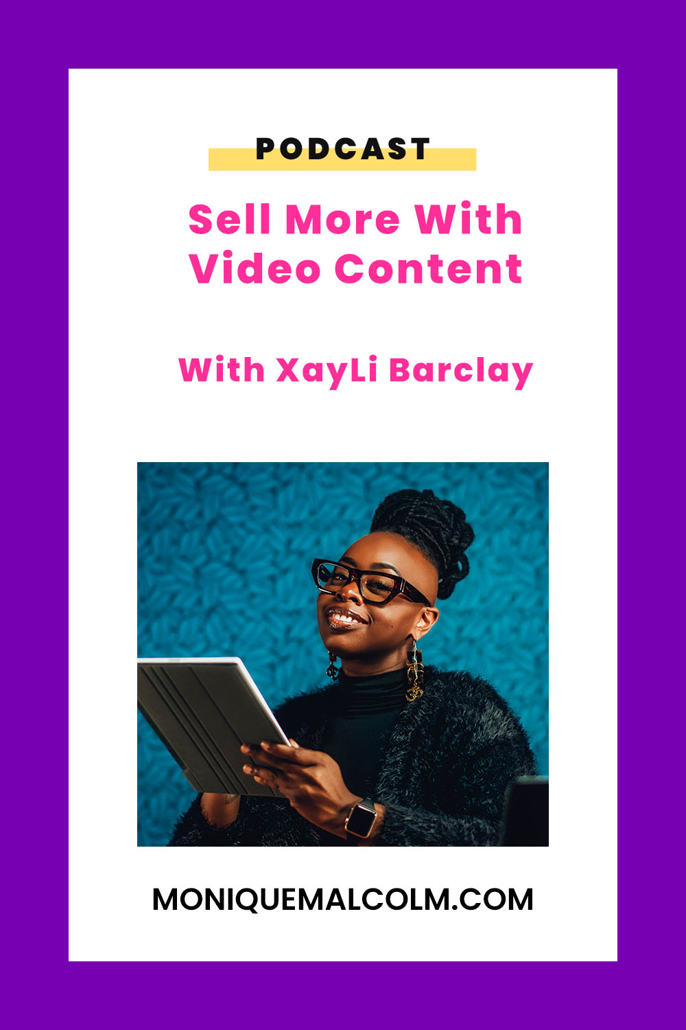 In this episode, Monique talks with video coach XayLi Barclay about how video benefits your brand, how to sell with video, types of video that drive sales, and the importance of showing behind the scenes of your process.